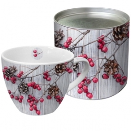 Mug Berries on Wood in der Dose