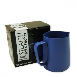 Rhino Stealth Milk Pitcher 12oz/360ml Blue